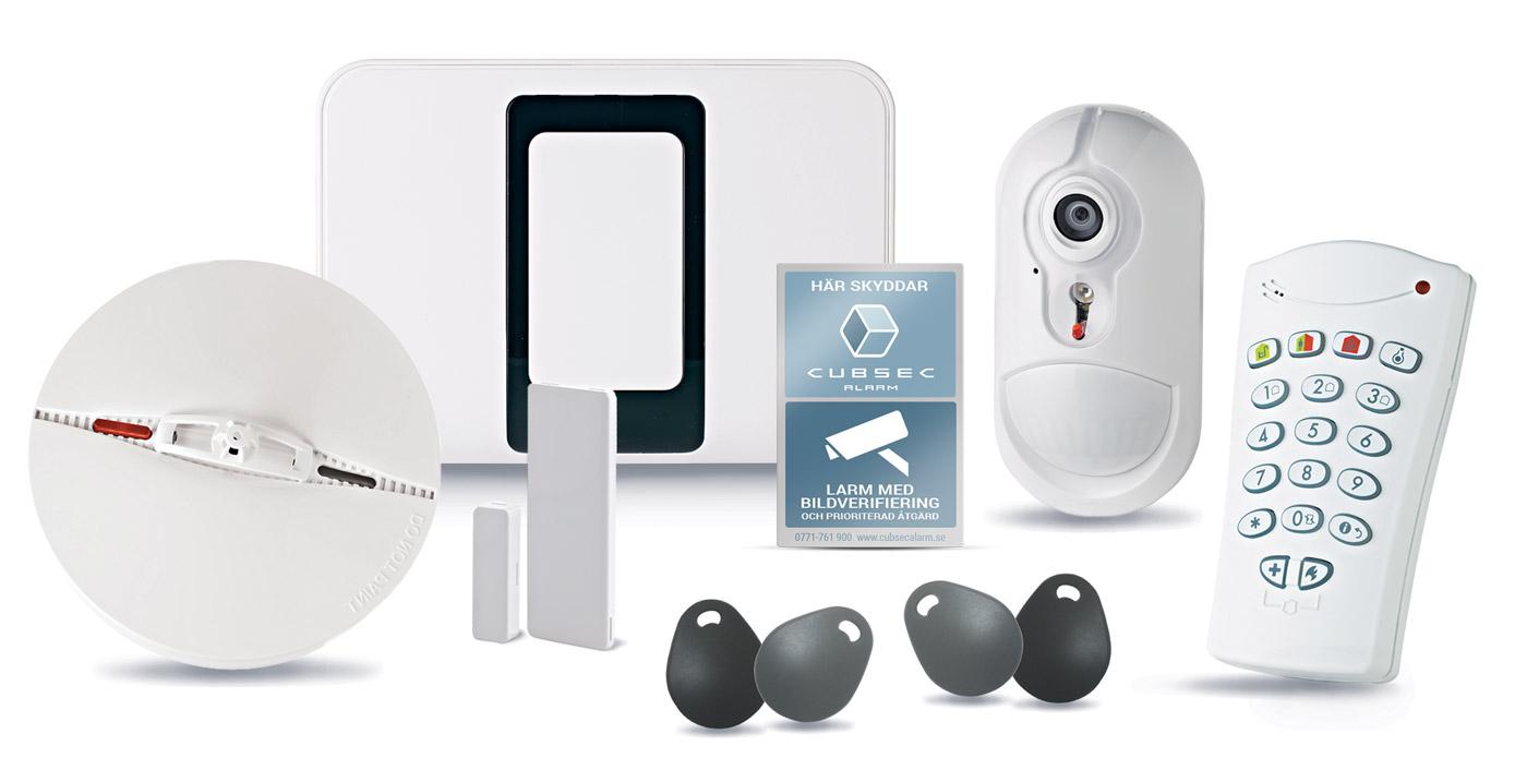Hemlarm inne - Cubsec Alarm : hemlarm lägenhet : Inredning