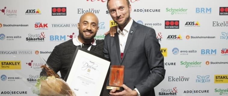 Trygghetsskaparen Cubsec tilldelas priset Security Awards